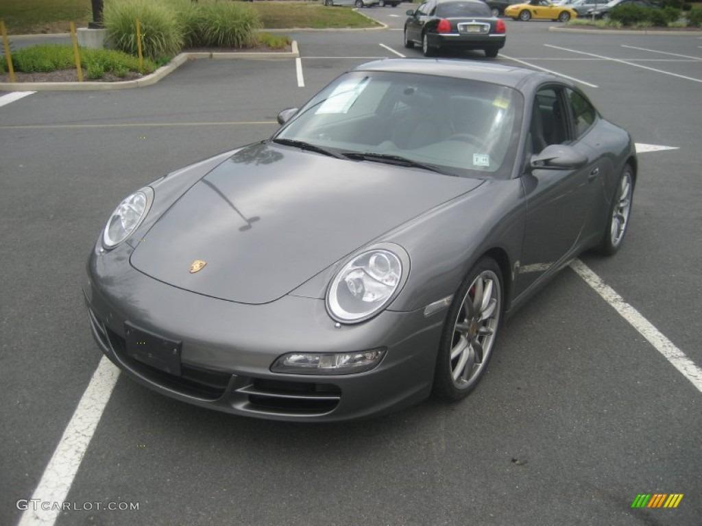 2007 Meteor Grey Metallic Porsche 911 Carrera S Coupe