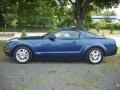 2007 Vista Blue Metallic Ford Mustang V6 Premium Coupe  photo #2