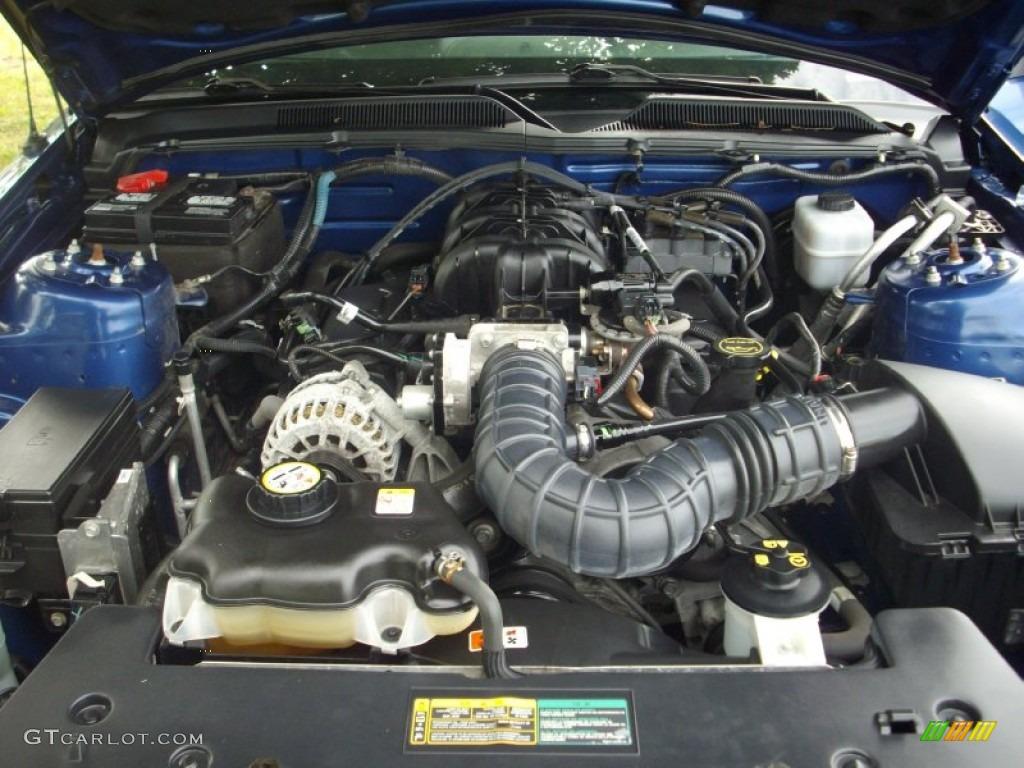2007 ford mustang v6 premium coupe 4 0 liter sohc 12 valve. Black Bedroom Furniture Sets. Home Design Ideas