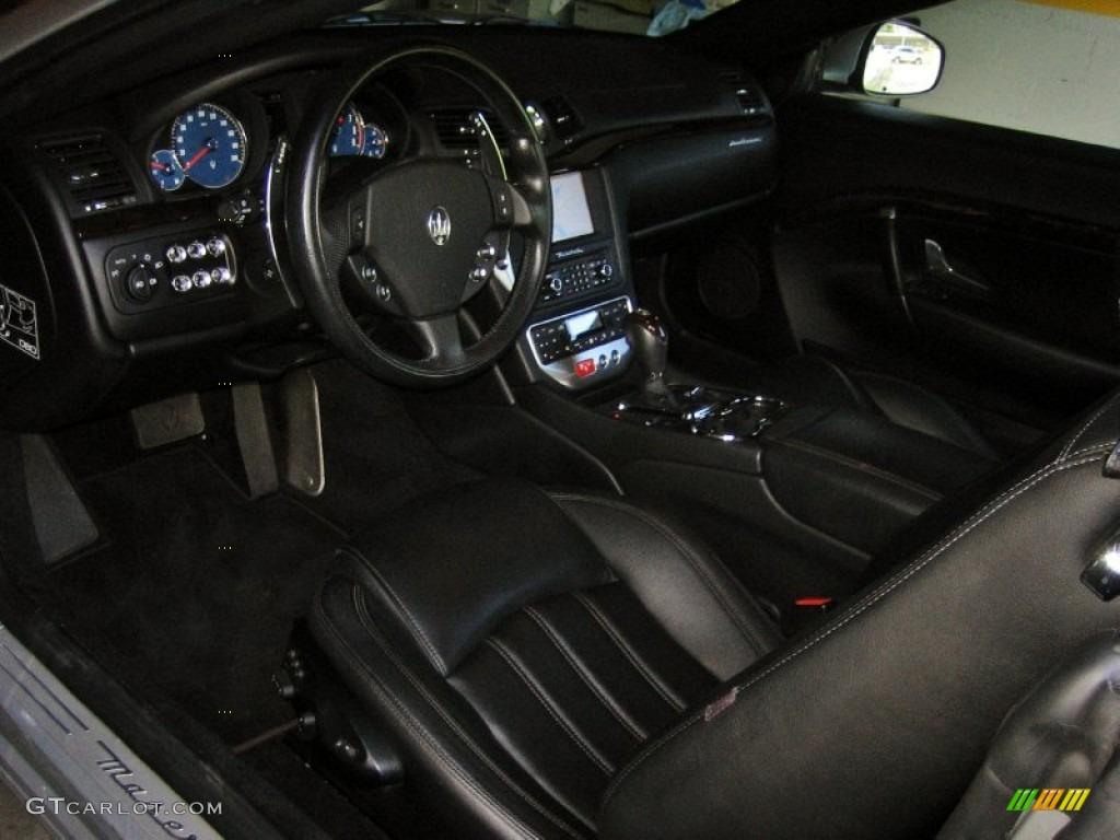 2010 maserati granturismo convertible grancabrio interior. Black Bedroom Furniture Sets. Home Design Ideas