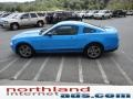 2011 Grabber Blue Ford Mustang V6 Premium Coupe  photo #4