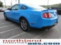 2011 Grabber Blue Ford Mustang V6 Premium Coupe  photo #5