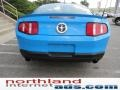 2011 Grabber Blue Ford Mustang V6 Premium Coupe  photo #6