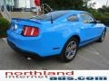 2011 Grabber Blue Ford Mustang V6 Premium Coupe  photo #7