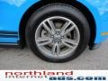 2011 Grabber Blue Ford Mustang V6 Premium Coupe  photo #8