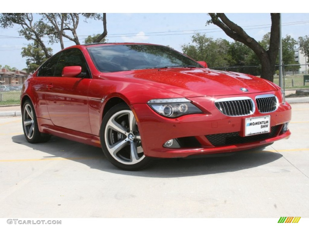2009 imola red metallic bmw 6 series 650i coupe 52256141. Black Bedroom Furniture Sets. Home Design Ideas