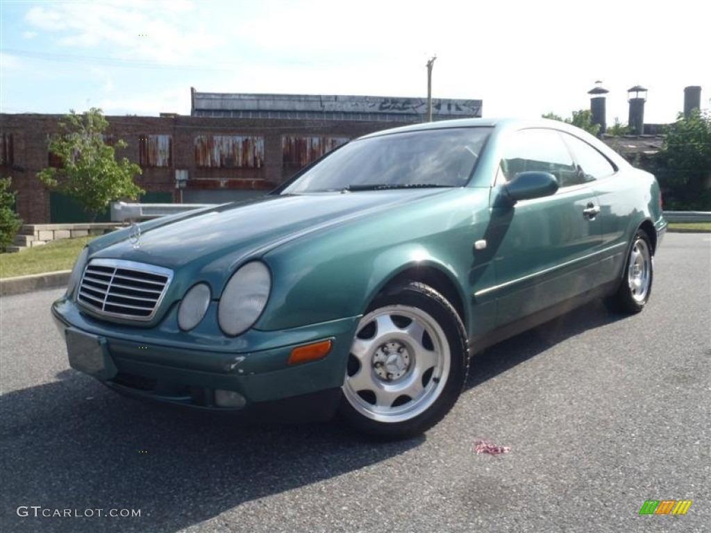 1999 mineral green metallic mercedes benz clk 320 coupe for 1999 mercedes benz clk320