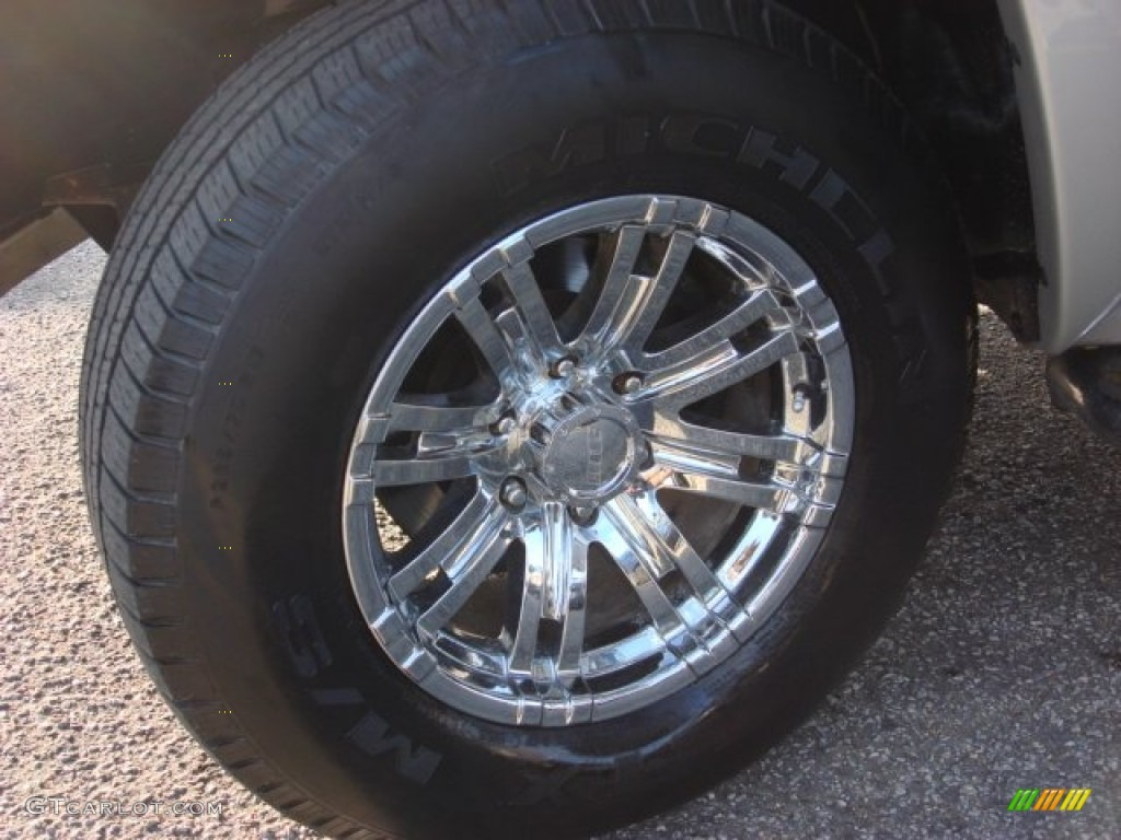 2006 Chevrolet Silverado 1500 Z71 Extended Cab 4x4 Custom Wheels Photo #52313073