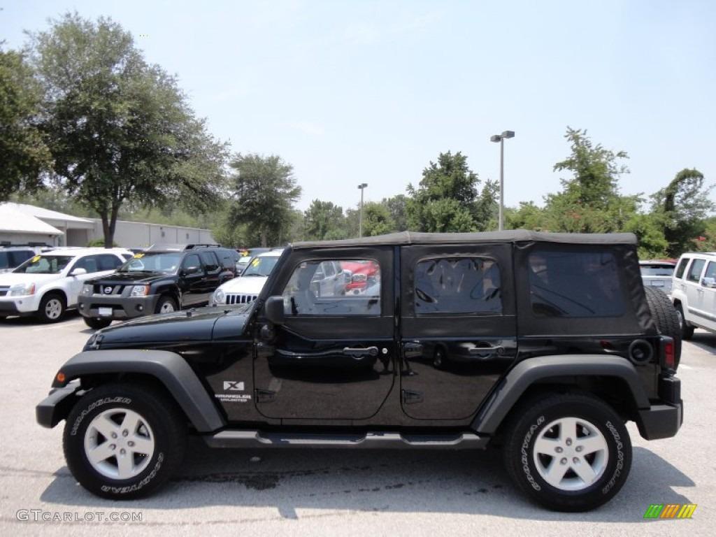Black 2008 Jeep Wrangler Unlimited X Exterior Photo 52316373 Gtcarlot Com
