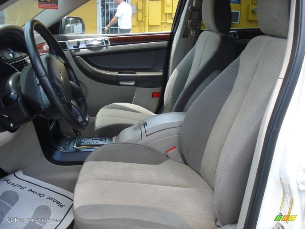 Dark Slate Gray Interior 2005 Chrysler Pacifica Touring Photo 52321854