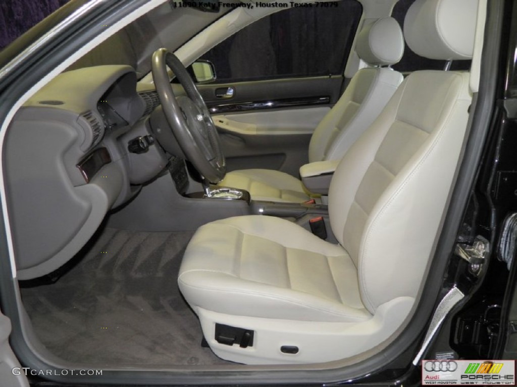ecru clay interior 2001 audi a4 2 8 sedan photo 52321881. Black Bedroom Furniture Sets. Home Design Ideas