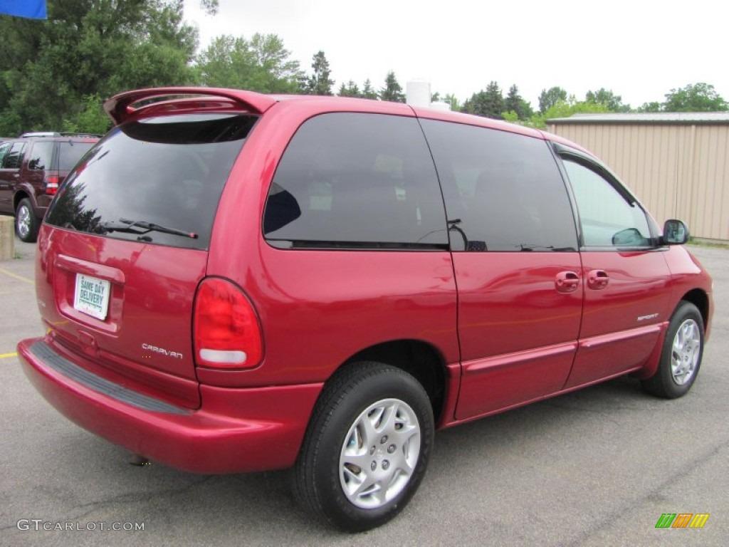 Dodge dodge 1999 caravan : Candy Apple Red Metallic 1999 Dodge Caravan SE Exterior Photo ...