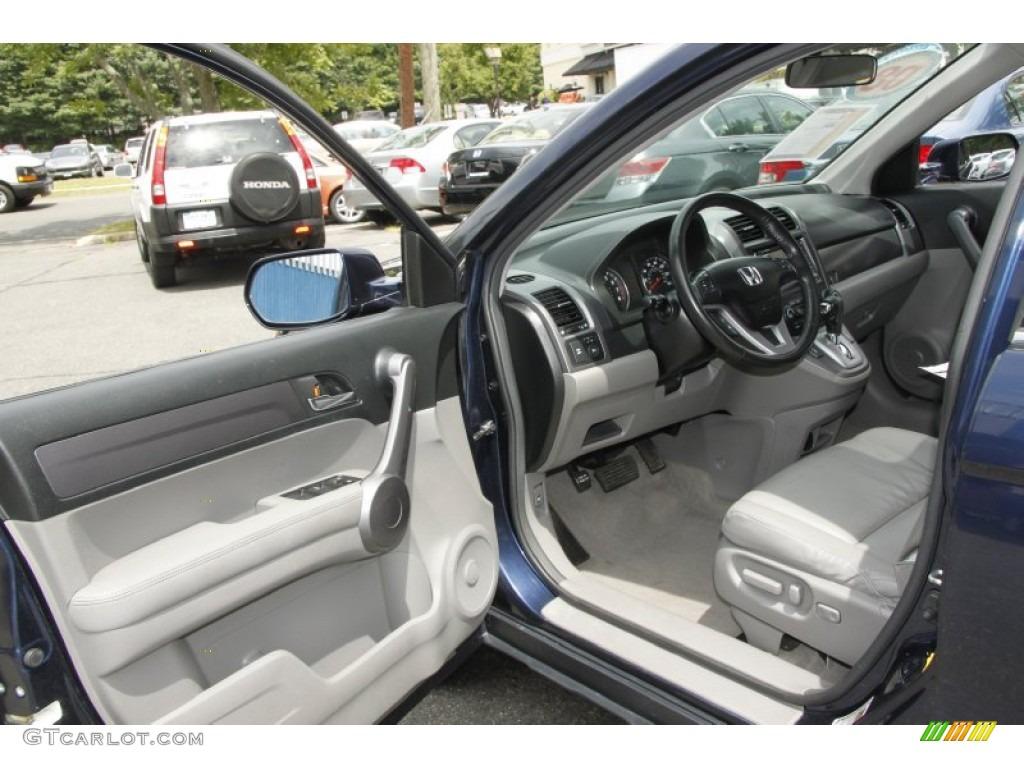 2008 CR-V EX-L 4WD - Royal Blue Pearl / Gray photo #11