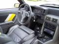 1989 Ford Mustang Saleen Grey/White/Yellow Interior Dashboard Photo