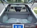 1989 Ford Mustang Saleen Grey/White/Yellow Interior Trunk Photo