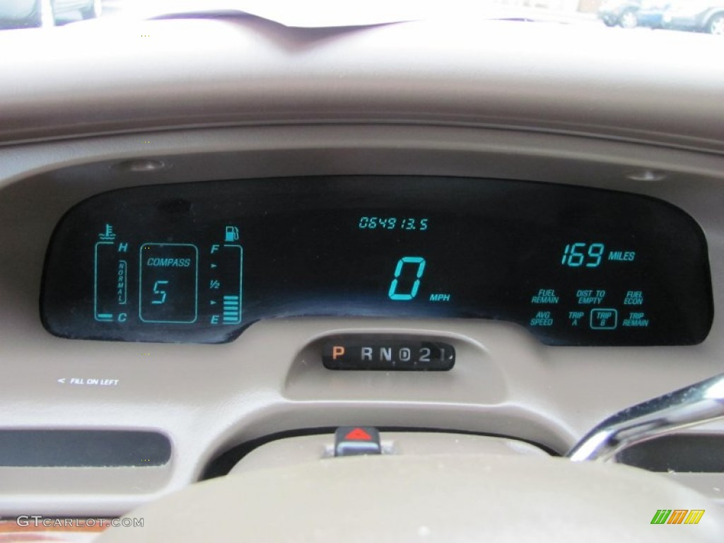 1997 lincoln town car signature gauges photo 52329321. Black Bedroom Furniture Sets. Home Design Ideas