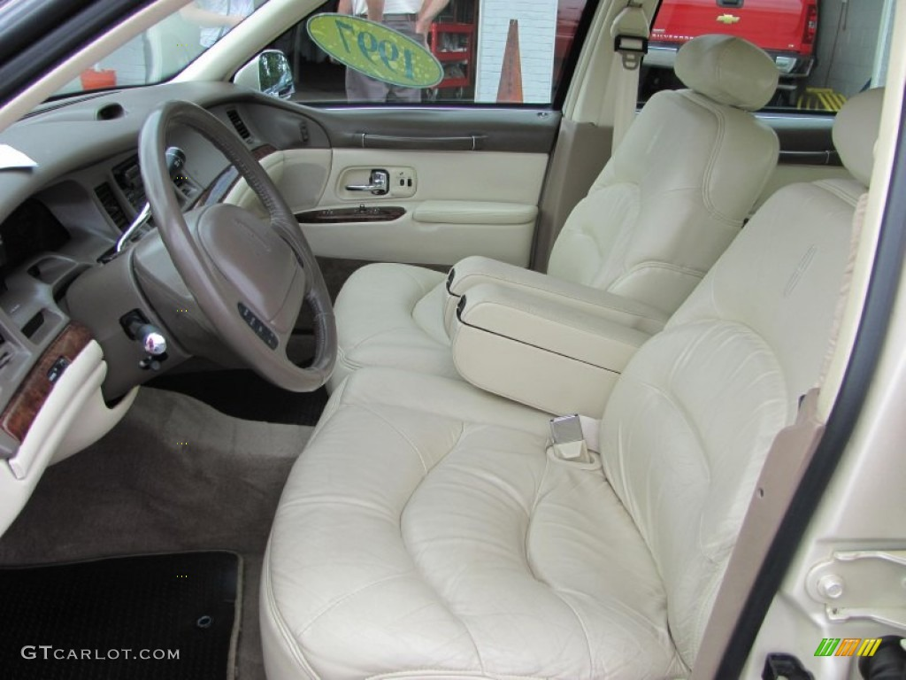 beige interior 1997 lincoln town car signature photo 52329345