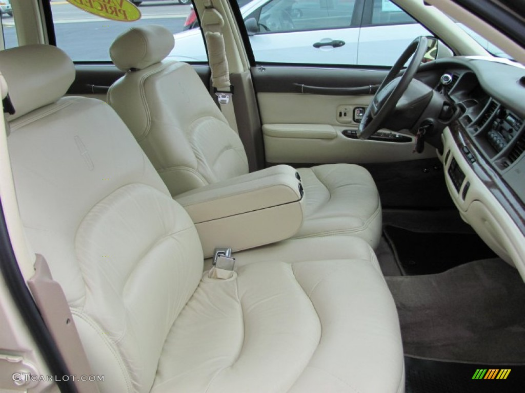 Beige Interior 1997 Lincoln Town Car Signature Photo 52329470