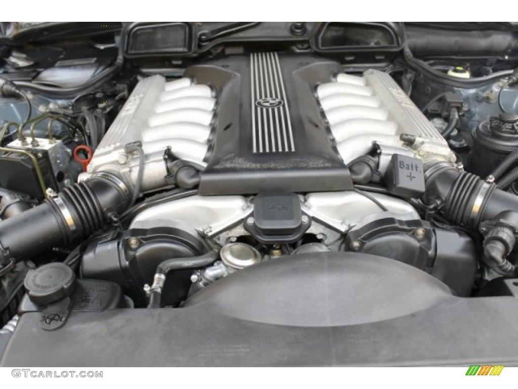 2000 bmw 7 series 750il sedan 5 4 liter sohc 24 valve v12. Black Bedroom Furniture Sets. Home Design Ideas