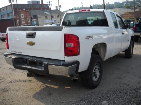 2007 chevrolet silverado 2500hd work truck extended cab 4x4 data info and specs. Black Bedroom Furniture Sets. Home Design Ideas