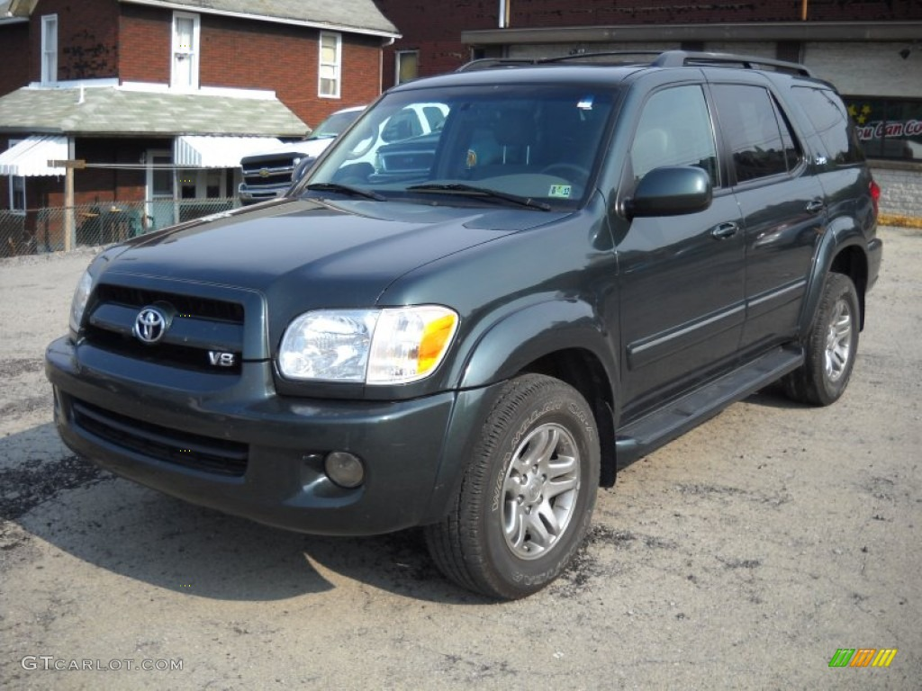 2007 Timberland Mica Toyota Sequoia Sr5 4wd 52310304 Car Color Galleries