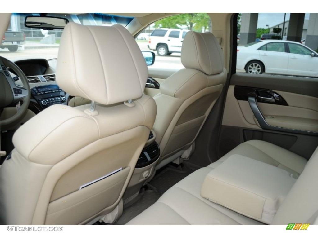 Parchment Interior 2010 Acura Mdx Technology Photo 52352730