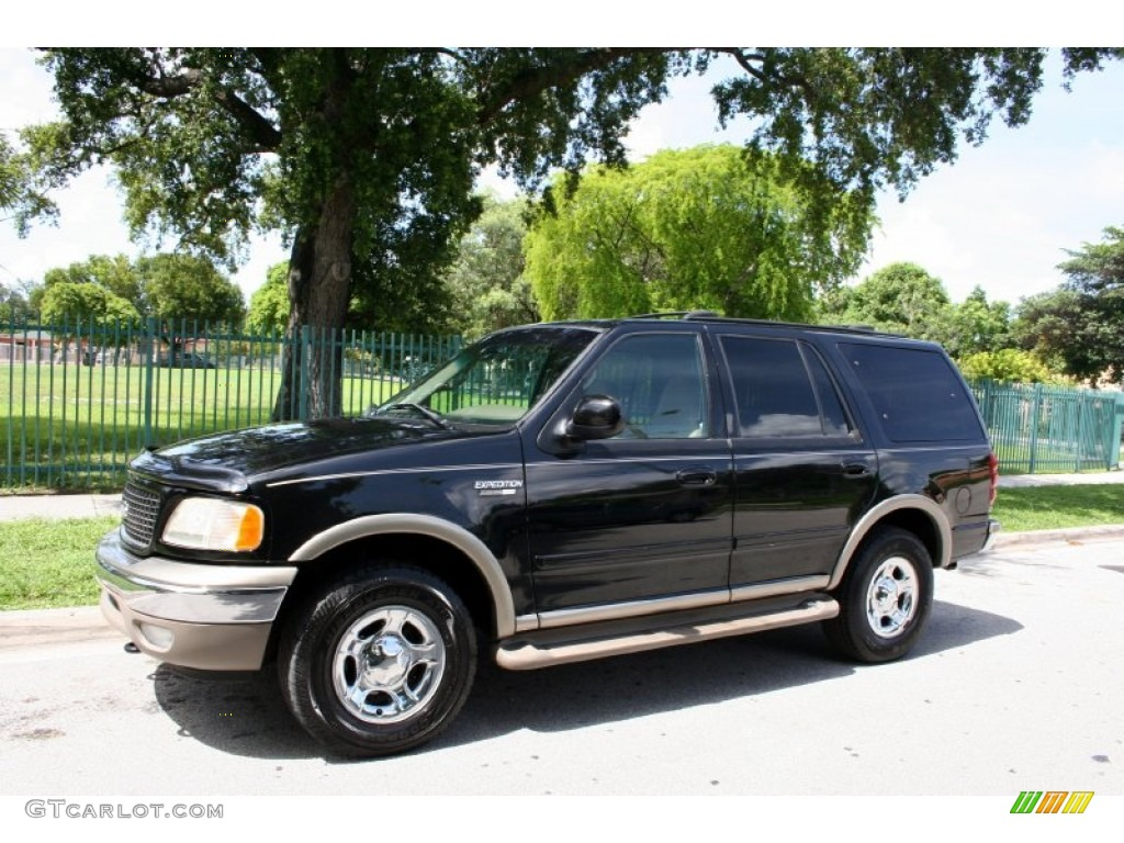 black 2000 ford expedition eddie bauer 4x4 exterior photo. Black Bedroom Furniture Sets. Home Design Ideas