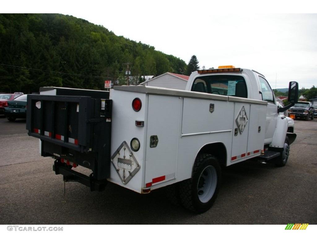 2004 C Series Kodiak C4500 Regular Cab Commercial Truck - Summit White / Gray photo #15