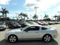 Satin Silver Metallic 2006 Ford Mustang GT Premium Coupe Exterior