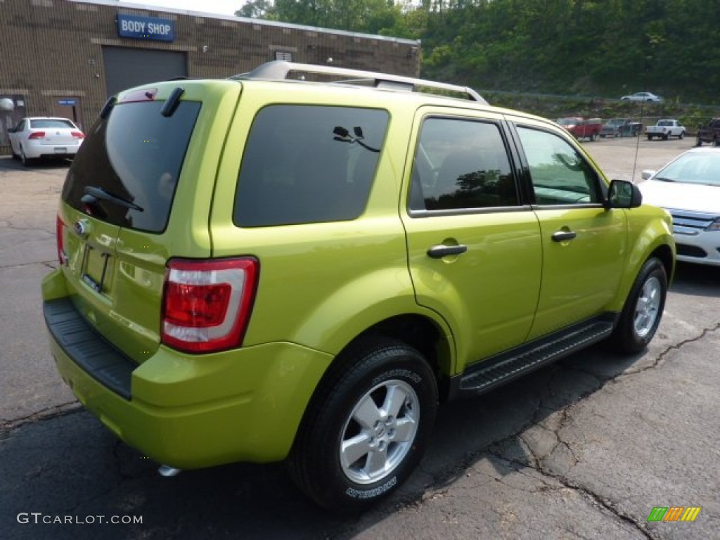 lime squeeze metallic 2012 ford escape xlt 4wd exterior photo 52372321
