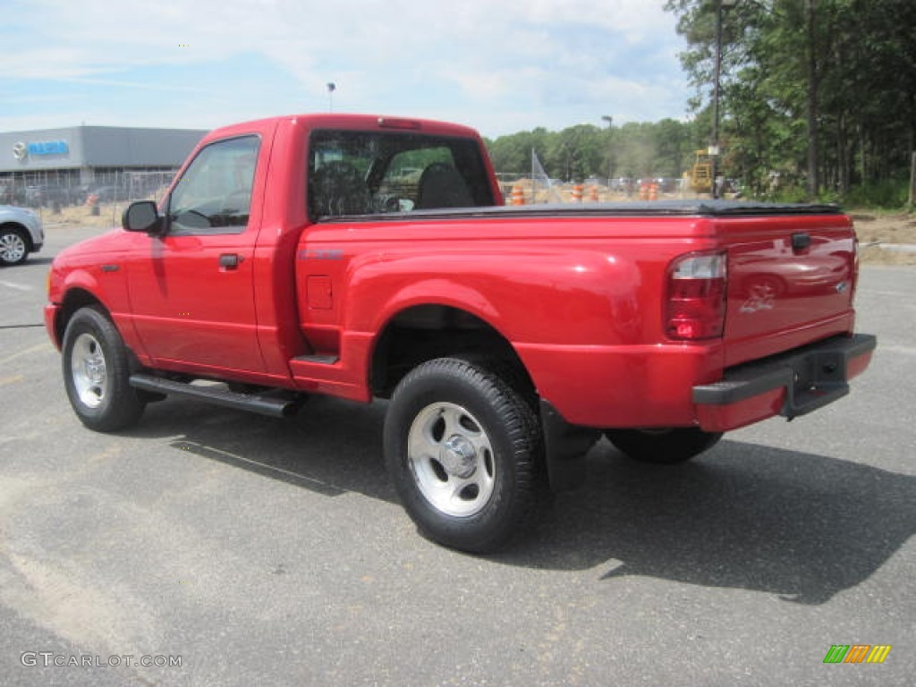 bright red 2001 ford ranger edge regular cab 4x4 exterior photo 52372873. Black Bedroom Furniture Sets. Home Design Ideas