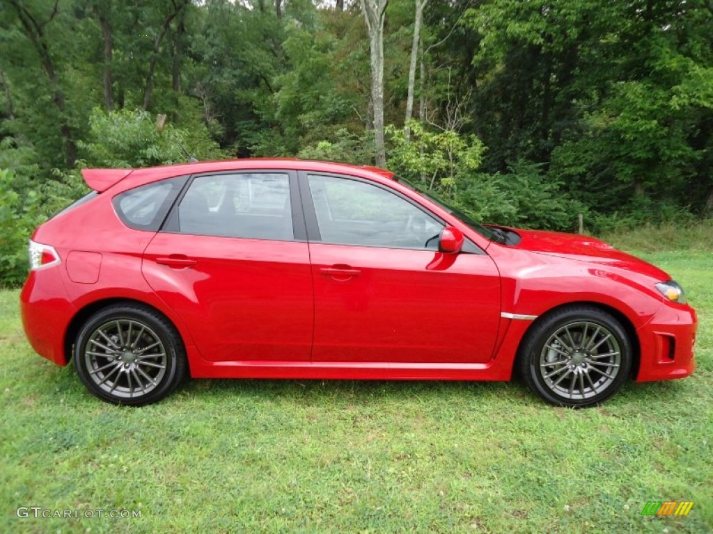 lightning red pearl 2011 subaru impreza wrx wagon exterior photo 52374454. Black Bedroom Furniture Sets. Home Design Ideas