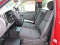Dark Titanium 2011 Chevrolet Silverado 1500 Regular Cab 4x4 Interior Color