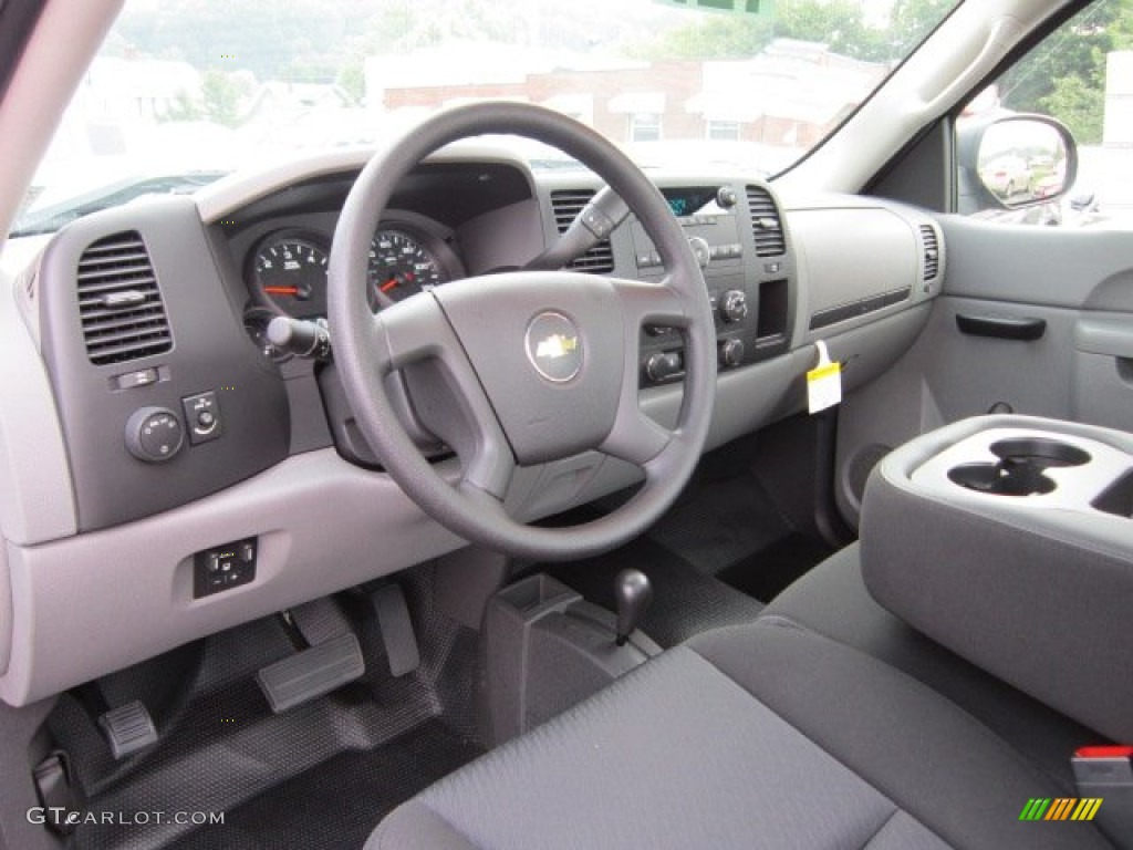 2011 Chevrolet Silverado 1500 Regular Cab 4x4 Dark Titanium Dashboard Photo #52381711