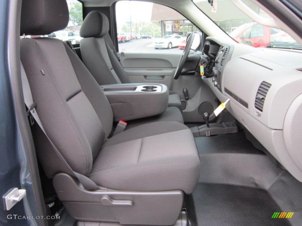 Dark Titanium Interior 2011 Chevrolet Silverado 1500 Regular Cab 4x4 Photo #52381768