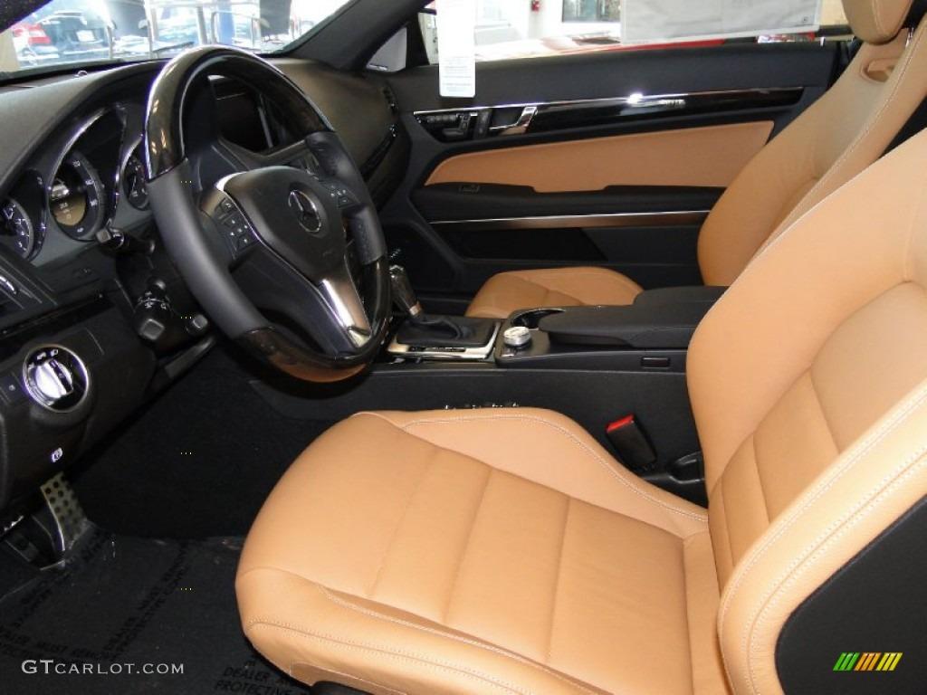 natural beige black interior 2012 mercedes benz e 350 coupe photo 52391049. Black Bedroom Furniture Sets. Home Design Ideas