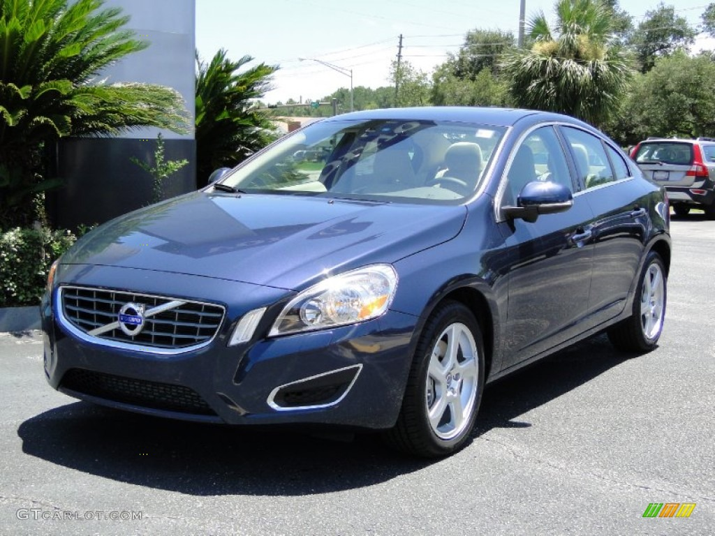 2012 caspian blue metallic volvo s60 t5 52390033 car color galleries. Black Bedroom Furniture Sets. Home Design Ideas