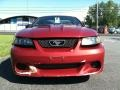2001 Laser Red Metallic Ford Mustang GT Coupe  photo #3