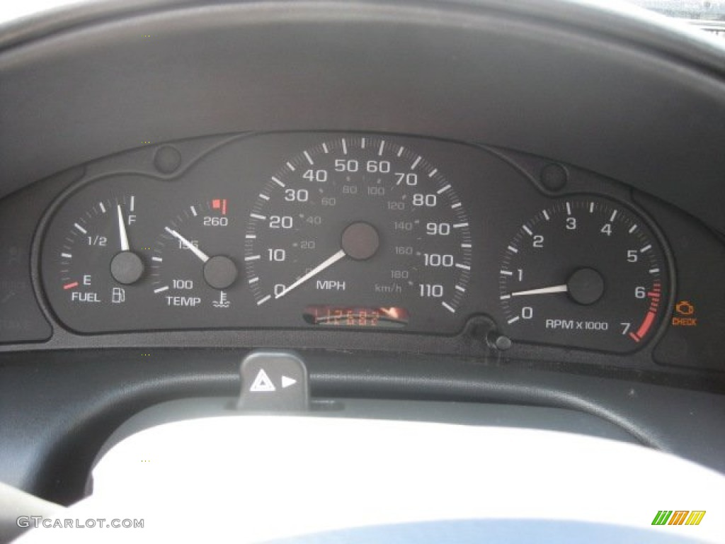 2003 Chevrolet Cavalier LS Coupe Gauges Photos