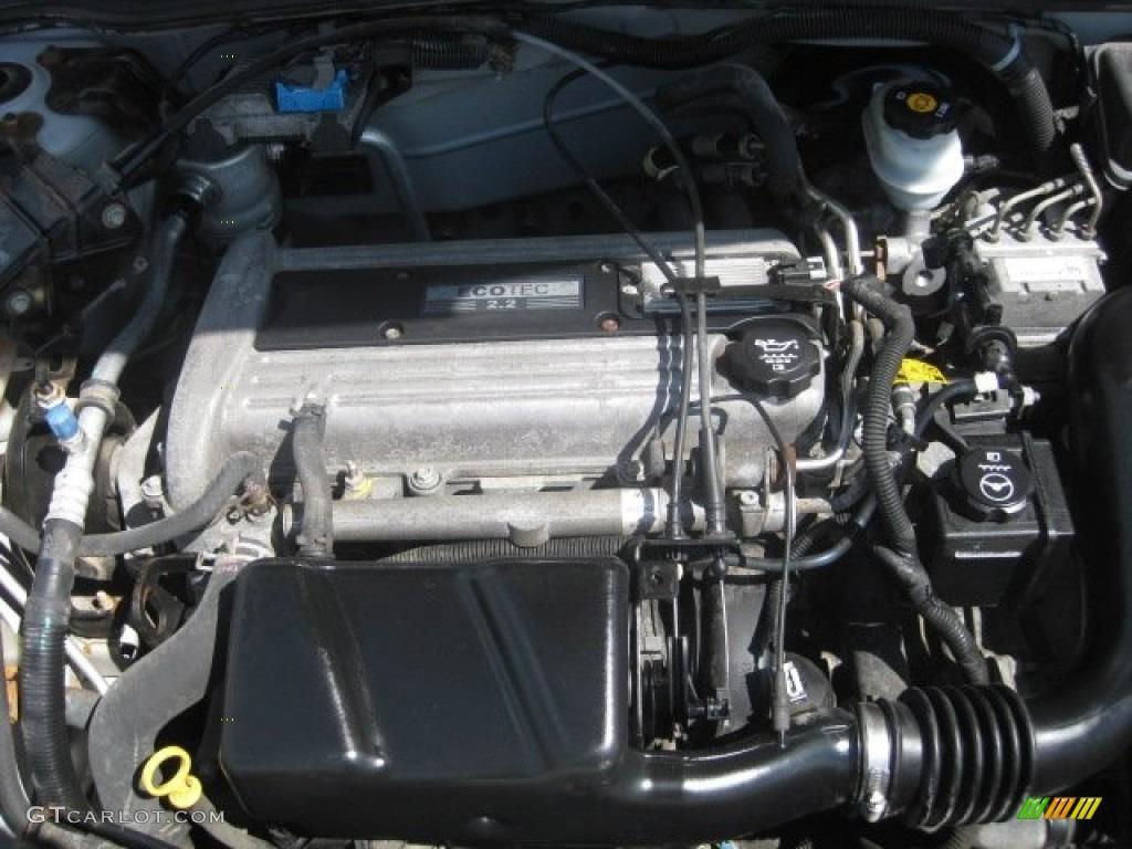 2003 Chevrolet Cavalier LS Coupe Engine Photos