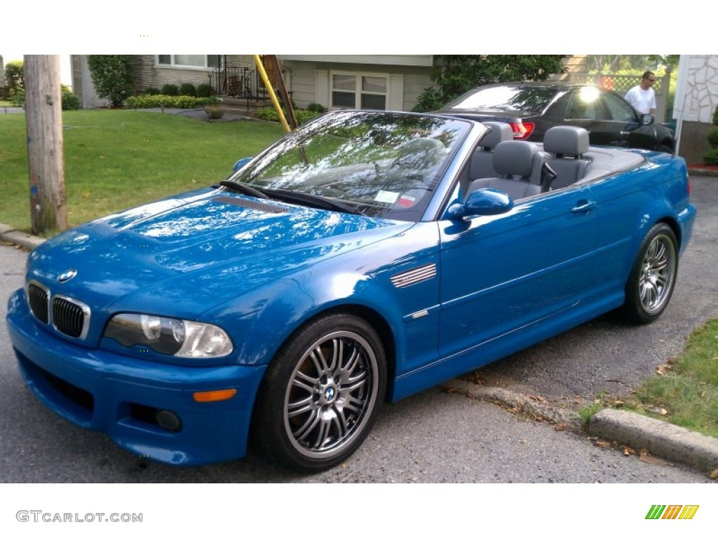 2002 Laguna Blue Bmw M3 Convertible 52396063 Gtcarlot Com Car Color Galleries