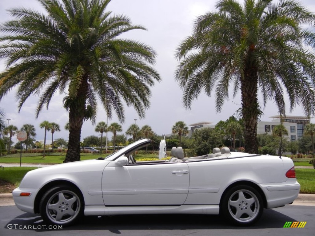 glacier white 2000 mercedes benz clk 430 cabriolet. Black Bedroom Furniture Sets. Home Design Ideas