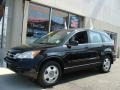 2010 Crystal Black Pearl Honda CR-V LX AWD  photo #1