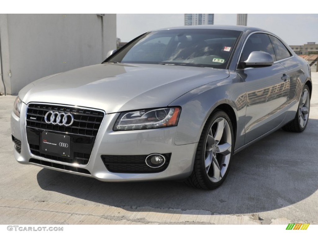 quartz grey metallic 2009 audi a5 3 2 quattro coupe. Black Bedroom Furniture Sets. Home Design Ideas