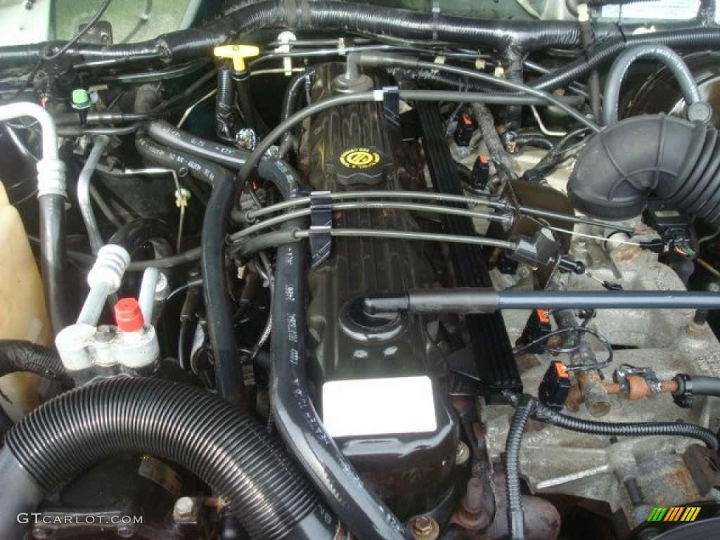 1998 Jeep Cherokee Sport 4x4 Engine Photos