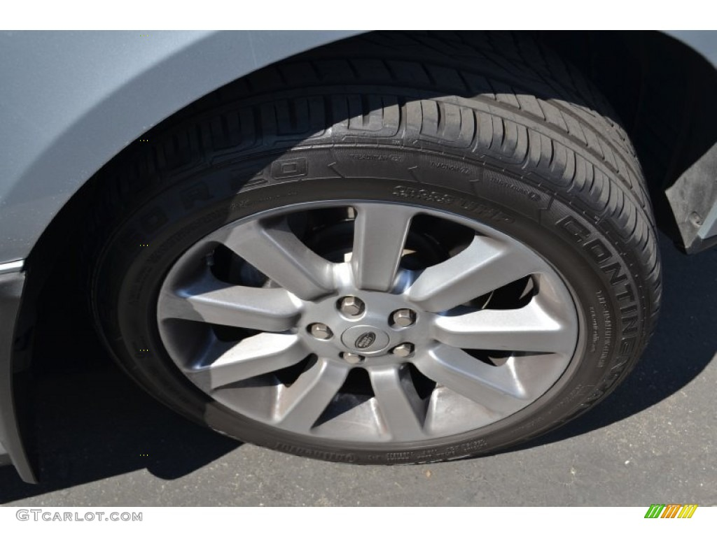 2007 Range Rover Supercharged - Zermatt Silver Metallic / Jet Black photo #2