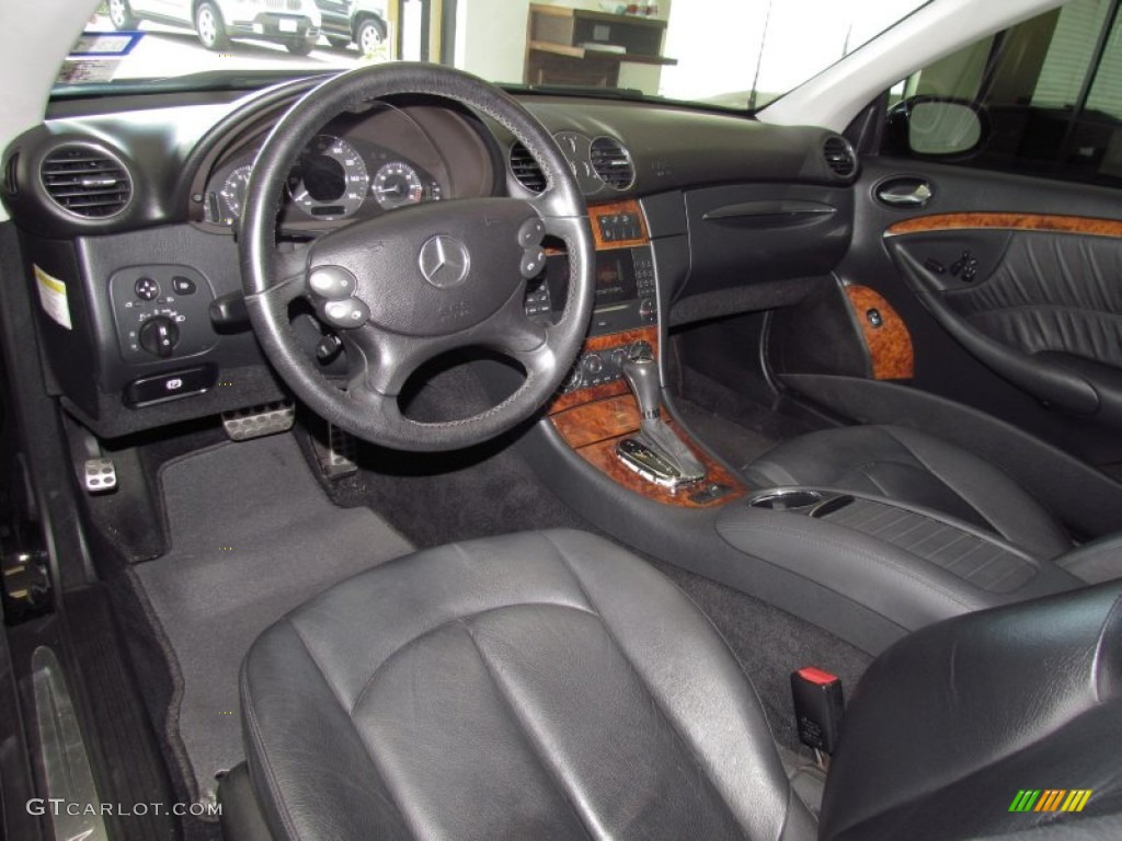 Black Interior 2006 Mercedes Benz Clk 350 Cabriolet Photo 52426356