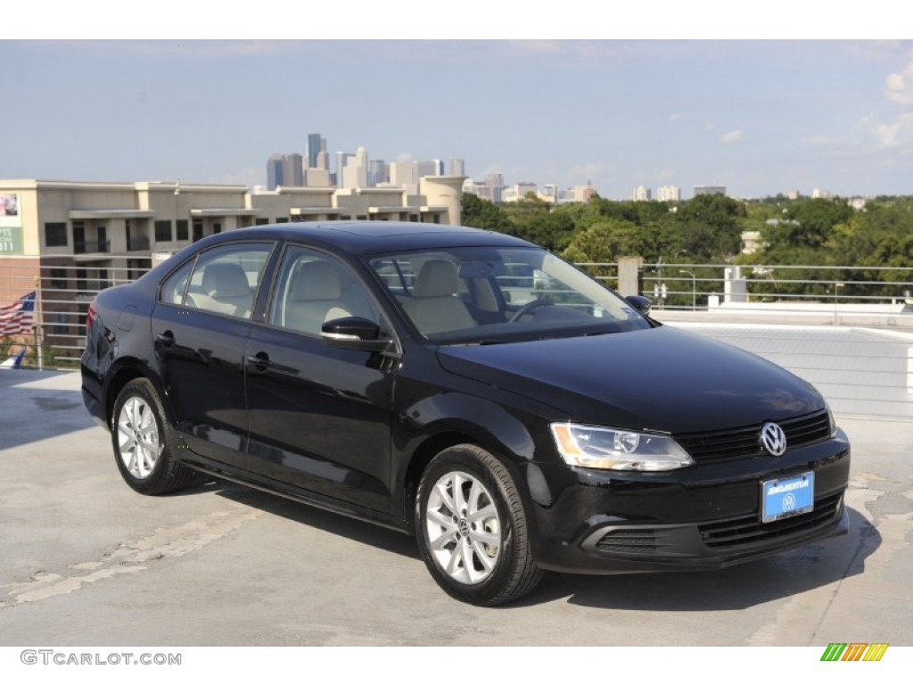 black 2012 volkswagen jetta se sedan exterior photo 52432751. Black Bedroom Furniture Sets. Home Design Ideas
