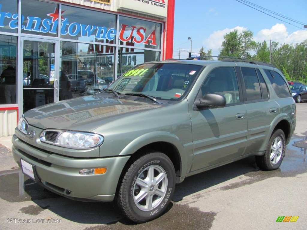 2003 silver green metallic oldsmobile bravada awd 52396368 gtcarlot com car color galleries gtcarlot com