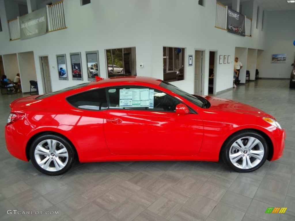 Tsukuba Red 2011 Hyundai Genesis Coupe 2 0t Exterior Photo